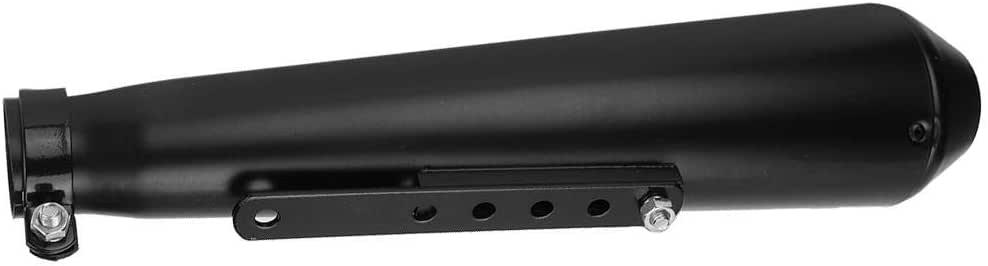 scheggia Hlyjoon Silenziatore per Moto Silenziatore Tubo di Scarico 1,5 1,6 1,7 1,8 Pollici Parti di Modifica Moto Sistema di Scarico Silenziatore Centrale Tubo Silenziatore Silenziatore Tubo
