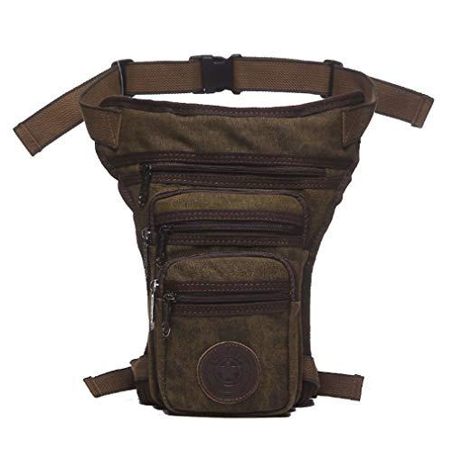 Xieben Lienzo Muslo Caer Bolsa De Pierna Hombres Tactical