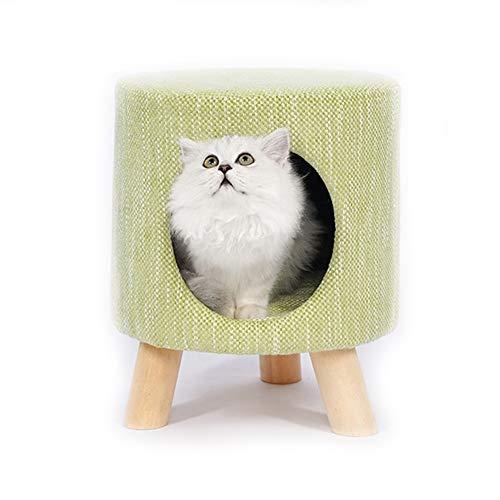 Cat Kitten Bed Basket Puppy Sleeping Cave 2 1 Taburete
