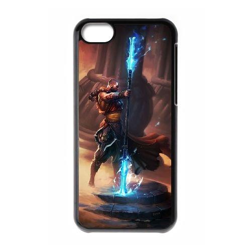 Diablo coque iPhone 5C Housse téléphone Noir de couverture de cas coque EBDXJKNBO09175