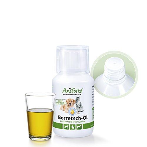 Artikelbild: AniForte Borretsch-Öl 100ml – Naturprodukt für Hunde, Katzen und Pferde - (Qualitäts-ID: 508 C 04)