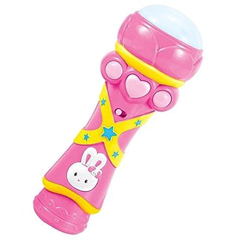 Jouets pour Enfants - TOOGOO(R) Jouets pour Enfants, Sans Fil Filles Garcons LED Micro Karaoke Chant Kid Musique Drole Toy,