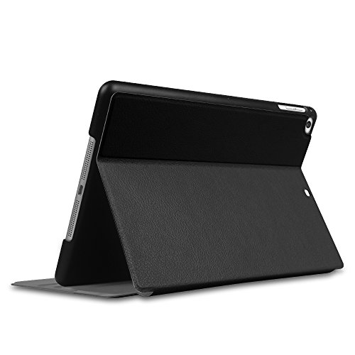Fintie iPad 2017 9.7 Zoll / iPad Air 2 / iPad Air Hülle - [Slim Shell] Superleicht Folio Stand Schutzhülle mit Auto Sleep / Wake, Multi-Winkel Betrachtung für Apple iPad 2017, iPad Air 1 2, Schwarz - 9
