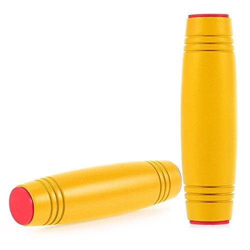 Theoutlettablet® Fidget Rollover JAMMER, Juguete Anti Ansiedad para Niños Jóvenes Adultos toys plays color AMARILLO