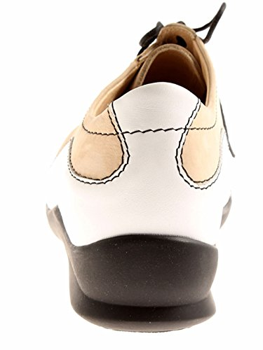 lacci 05110 Berkemann pelle basse ELENA in Sabbia Scarpe Scarpe donna Cwpapqx1v