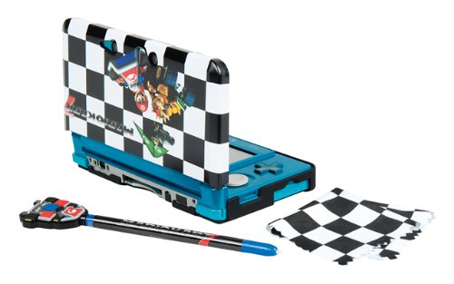 Ardistel - Kit Carcasa Mario Kart 7: Snap & Play (Nintendo 3DS)