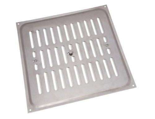 Aluminium Glücksache Louvre ventilation Deckel 9 x 9 Zoll (Packung mit 10)
