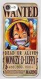 Coque iPhone 7+ Plus et iPhone 8+ Plus Luffy One Piece Japon Wanted Dessin Animé...