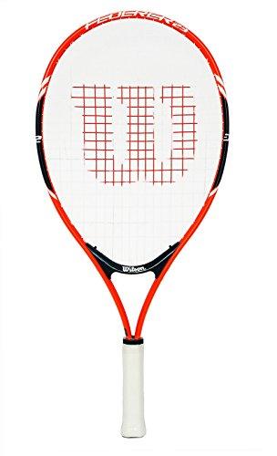 Wilson Kinder Schläger Roger Federer, rot/grau, 23 Grip, rot/weiß, 23