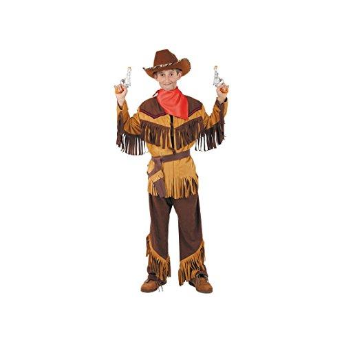 Disfraces FCR - Disfraz vaquero niño talla 6 años Disfraz Vaquero