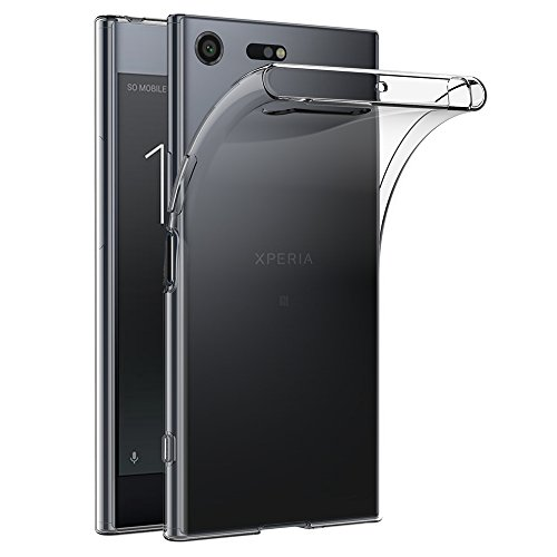 AICEK Sony Xperia XZ Premium Hülle, Transparent Silikon Schutzhülle für Xperia XZ Premium Case Crystal Clear Durchsichtige TPU Bumper Sony Xperia XZ Premium Handyhülle 5,46 Zoll