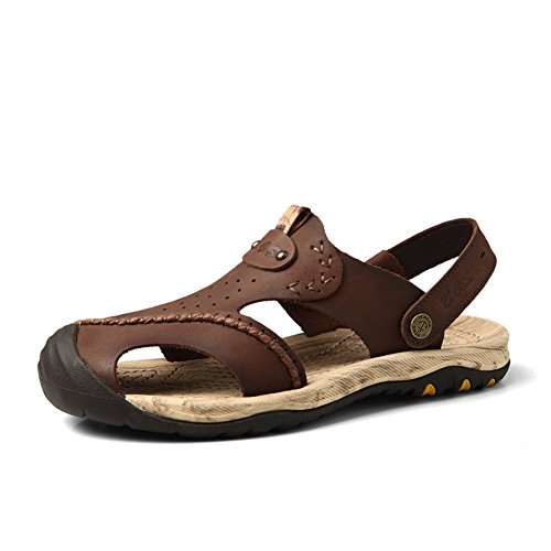 Sandale hommes Baotou/Été sandales respirante/Casual sandales B