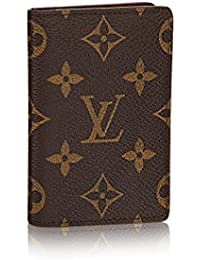 Louis Vuitton Monogram lienzo bolsillo organizador nm m60502