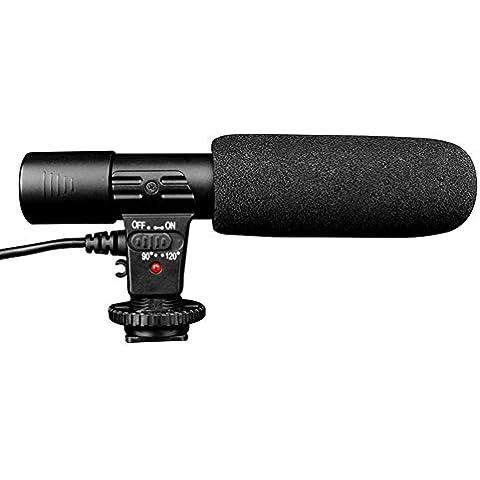 FYHSHOP Mic-01 fotocamera professionale inter view o dopo la superficie del foglio grazie stereo-Microfono Pick-up per canone Nikon Pentax Olympus Panasonic digitale SLR-fotocamera hanno batteria