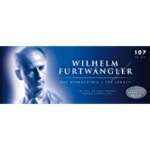 """""""The Legacy"""": Wilhelm Furtwängler conducts: The Ring of the Nibelung, St. Matthew Passion, Brandenburg Concerto, Don Giovanni, The Magic Flute, amo!"""