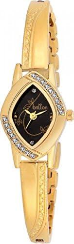 Britton Analog Black Dial Women's Watch - BR-LR010-BLK