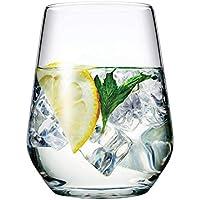 Pasabahce Allegra Lot de 6 Verres Pour Vin, Jus, Eau, Whiskey 425 ml