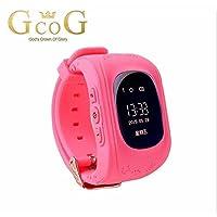 Turnmeon, çocuklar için, akıllı saat GPS izleyici, Cep Telefonu-Sim, Antiverlust, sos-Voice-Chat, GPRS, APP kontrol S Pembe Q50 smartwatch