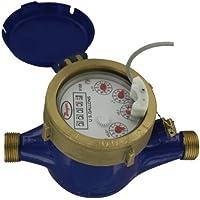 "Dwyer Multi-Jet Medidor de agua w/salida pulsada, wmt2-a-c-07–1, 2""NPT, 160GPM, cuerpo de latón"