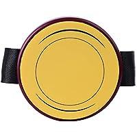 Rayzm Mini Drum Pad de Pierna Ajustable para Practicar, Accesorio de Batería Portátil de Gran Realismo, 4 Pulgadas (10,2cm) Almohadilla de Silicona de Buena Respuesta y Silenciosa, Compatible con Stand Estándar de 8mm.