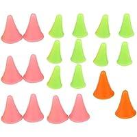 ultnice tejer aguja punto protectores 20unidades agujas de ganchillo Tope 2Tamaño Color aleatorio