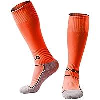 Yohope Calcetines de fútbol para niños Teamwear en Calcetines de Entrenamiento Escolar de Equipos de fútbol