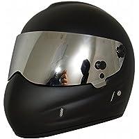 GUO Casco de Moto Casco Star Wars Frp Casco Completo de Personalidad Casco,Negro,