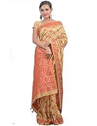 Mayuri Silk Palace - Women's Assam Art Silk Saree (Multicolor)