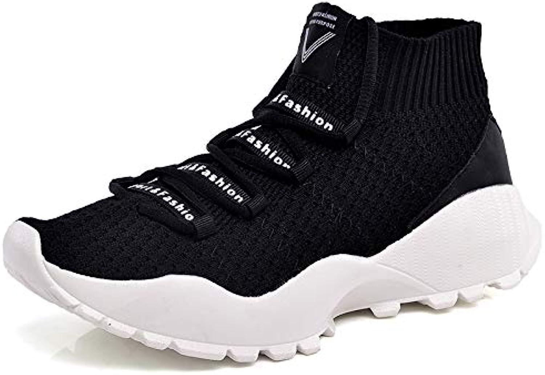 568dee030 Liuxc scarpe sportive sportive sportive Uomini Scarpe da Ginnastica Alte  Volanti d'Estate per Aiutare