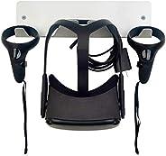 Hooshion Wandhalterung für VR-Headset, Aluminium-Legierung, Wandhalterung für Oculus Rift-S/Oculus Quest/HTC V