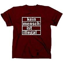 Kein Mensch ist illegal T-Shirt, refugees welcome