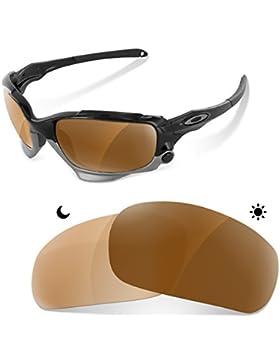 Sunglasses Restorer Lentes Fotocromaticas Polarizadas Marron 30- 45 % de Recambio para Oakley Racing Jacket