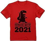 Green Turtle Camiseta para niños - Hermano Mayor Regalo Original y Divertido 2021