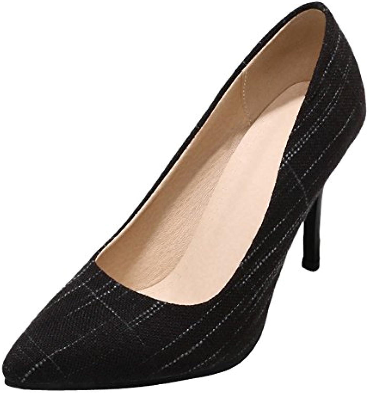 76afc195bdad Carolbar Women s Grace Fashion Stiletto High High High Heel Pointed Toe  Court Shoes B07B4TFGKH Parent ed7b59
