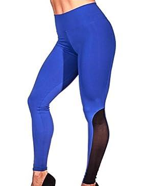 SANFASHION Damen Hosen - Pantalón - para Mujer