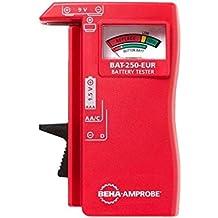 BEHA AMPROBE BAT-250-EUR analizador - comprobador de baterías
