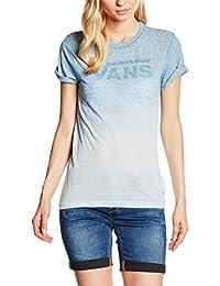 Vans Fade Drop Rocker Slim Tee - T-Shirt Manches Courtes - Manches Courtes - Femme