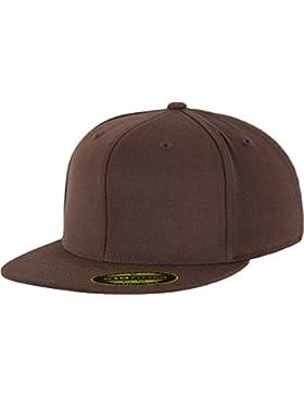 FLEXFIT Premium 210 Su misura Berretto da baseball in Div. Mod. Colori - Brown, L/XL - bis 61 cm