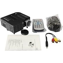 Pro proyector de alta definición UC28 + LCD Proyector de entretenimiento portátil mini de baja potencia LED para Home Cinema Theatre