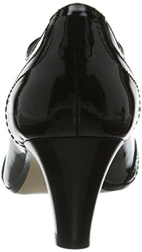 Evita Shoes, Chaussures À Lacets Noires Pour Femme (schwarz (schwarz))