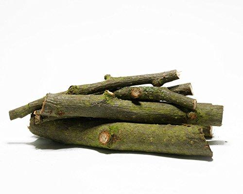 Apfelbaum-Äste 7st. - 10cm Lecker & Dekorativ für Garnelen, Krebse, Schnecken - Natürliches Dauerfutter