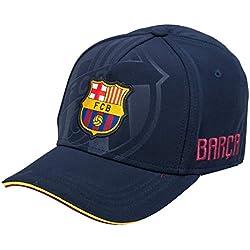 Fc Barcelone Barca-Gorra Oficial, Talla Ajustable