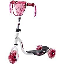 HUDORA Kinderroller Joey 3.0 weiß/pink - Scooter Kinder - 11060