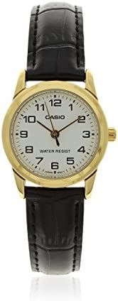Casio Women's Dial Leather Band Watch - LTP-V001