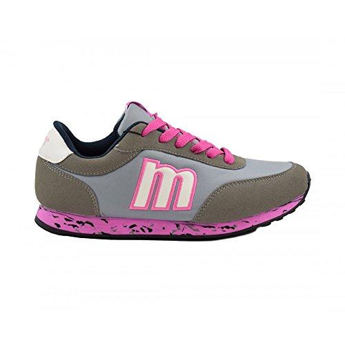 Benavente, Sneaker donna Grigio-rosa