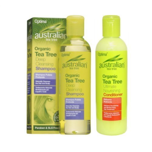 Australian Tea Tree Cleansing Shampoo and Nourishing Conditioner