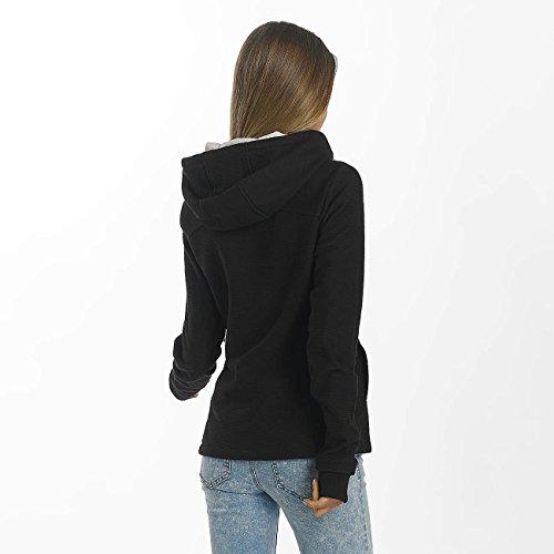 Bench Damen Strickfleece black beauty
