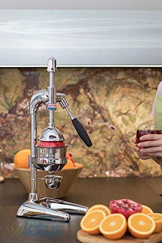 OPTIMUM XL Professional Juice Extractor Juicer Lever for Orange Pomegranate Chrome ...