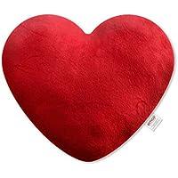 Emoji Cojín Bordado Corazón Oficial Color Rojo PIW_Red_Heart_EB