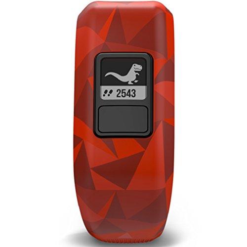 Garmin Vivofit Jr. Motivator and Activity Tracker – Broken Lava/Red